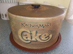 Vintage Kitchen-Maid Metal Cake Carrier