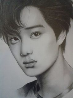 Exo - Kai by Hwondori on DeviantArt