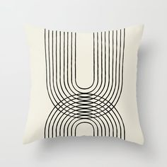 Arch duo 1 Mid century modern Throw Pillow by MoonlightPrint - Cover x with pillow insert - Indoor Pillow Modern Throw Pillows, Throw Cushions, Couch Pillows, Designer Throw Pillows, Down Pillows, Mid Century Modern Couch, Printed Cushions, Decorative Pillow Cases, High Fashion Home