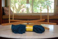 unschool plus: homemade yarn swift