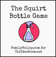 Family game idea for summer.