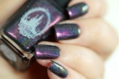 Enchanted polish - prism of darkness *yasss*