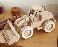 visit www.makeCNC.com to purchase this pattern Bulldozer Front End Loader