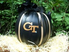 Georgia Tech Pumpkin!