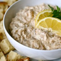 This crab dip can be whipped up in no time, and will then be devoured just as quickly.