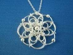This chain maille Filigree Pendant Kit is a great intermediate project for those of you that love the chain maille technique. Kit contains a combination of sterling silver and silver filled components. Step by step instructions and photos guide you through this fun piece. Finished pendant measures approximately 1.5″ in diameter and looks great on …