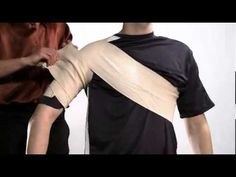 How to Immobilize a Shoulder with an Ace bandage - Nursing Crib