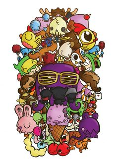 Podgy Panda - Doodley Illustrations