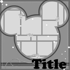 Template Challenge #36 (10/30 - 11/12) - MouseScrappers.com
