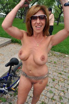 Naked bike ride lets do it