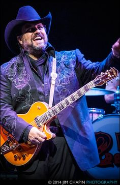 Another beautiful shot by Jim Chapin - Raul Malo - The Mavericks in Austin, Texas April 2014  - http://www.jimchapinphotography.com/