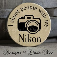 EXCLUSIVE to my shop I SHOOT People with by DesignsbyLindaNeeToo, $1.50