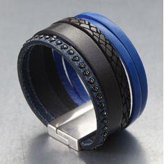 Bracelet manchette Virginie ♥ By Miss Go Bijoux #bracelet manchette #bijou #bracelet cuir www.bymissgobijoux.com