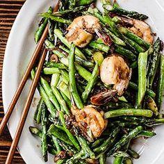 Asparagus Shrimp Stir-Fry | MyRecipes.com