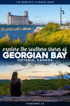 Georgian Bay is a hot spot for adventure in Ontario, Canada. Check out these amazing things to do in South Georgian Bay and you'll see why it's a destination for all seasons! Travel tips Georgian Bay Ontario Canada. Vancouver, Toronto, Quebec, Cool Places To Visit, Places To Travel, Vacation Places, Vacations, Ottawa, Amazing Destinations