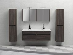 wall mounted bathroom vanities - Google Search