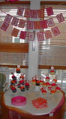 Tutu and Tie Birthday Party!!
