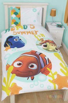 Parure de lit Nemo Summer http://www.toluki.com/prod.php?id=556  #Toluki #enfant #chambre