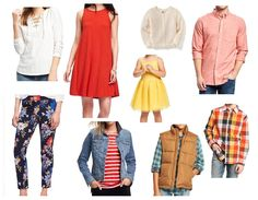 Outfit ideas for the family this spring! Fiery orange, yellow, and navy combine to create a bright spring family photo. Bright Spring, Orange Yellow, Spring Outfits, Family Photos, Outfit Ideas, Navy, Portrait, Create, Fashion