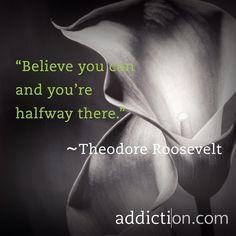 #Believe in yourself! #recovery #sobriety #OneDayAtATime #sober #inspiration