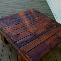 Pallet Table...possible coffee table idea?