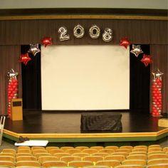 Pix For Graduation Stage Decorations Ideas