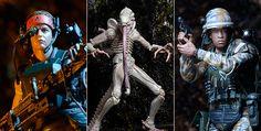 ToyzMag.com » Alien Series 9 : nouvelles images officielles par NECA