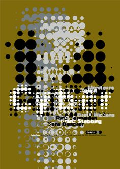 Typographic poster design by Neville Brody Peter Saville, Graphisches Design, Print Design, Mon Panache, Neville Brody, Swatch, Timeline Design, Design Research, Print Layout