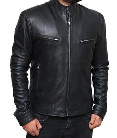 Louis Marco Men's Furious 7 Vin Diesel Cafe Racer Jacket at Amazon Men's Clothing store: