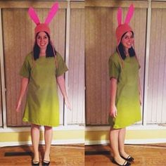 Louise Belcher from Bob's Burgers. | 31 Halloween Costumes Absolutely Anyone Can Make