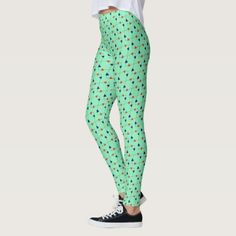 Geometric pattern leggings - pattern sample design template diy cyo customize