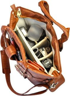 Ooohh man, WANT!!! Women's DSLR Camera Bag | Silhouette Bags $129