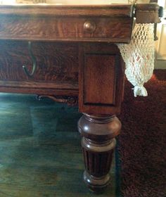 Antique Dining Tables, Dining Chairs, Bar Billiards Table, Vintage Accessories, Entryway Tables, Antiques, Furniture, Home Decor, Bar Pool Table