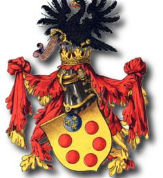 Find history and anecdotes about the Medici family, Grand Dukes of Tuscany and lords of Florence, Italy during the Middle Age and the Renaissance. Italian Pronunciation, Italian Renaissance, Family Crest, Royal House, Crests, 14th Century, Coat Of Arms, Middle Ages, Florence Tuscany