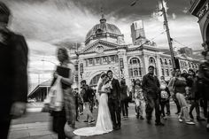 This shot uses slow shutter technique to create the blur motion effect to bring out the artistic and classy feel with the Flinders Street Station as our hero backdrop. The right lighting needs to be considered to avoid the blown out background.