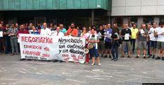 La plantilla municipal inicia movilizaciones en protesta por el bloqueo del convenio