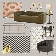 Roaring Revival - 1920s Home Decor and Furnishings. Great Gatsby Inspired Interior Design. Rethink Design Studio | Savannah, GA