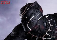 Marvel Black Panther Polystone Statue by Iron Studios | Sideshow Collectibles