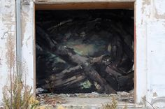 "EMILIO CEREZO  ' ""Introspección'  ..  [Mongat, Spain 2016] Emilio, Urban Art, Street Art, Spanish, World, Painting, Cherry Tree, City Art, Painting Art"