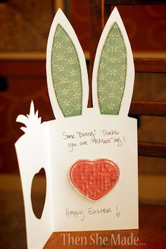 Cute Bunny Card - 2 of 2