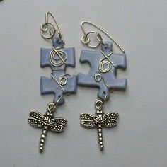 Make Fun Puzzle Earrings | JewelryLessons.com