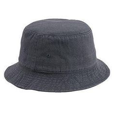Washed Cotton Twill Bucket Hat