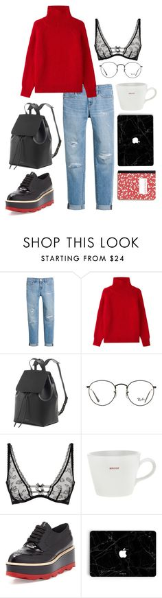"""street style #038: back to work"" by veronicagnzlz on Polyvore featuring moda, White House Black Market, Vanessa Bruno, Ray-Ban, Agent Provocateur, Keith Brymer Jones y Prada"