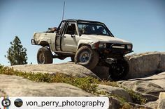 "Sweet pickup on the con #Reposting @von_perry_photography -- This weekend I got the opportunity to go out on the Rubicon Trail and shoot the 15th Marlin Crawler Round-up. It's awesome to get out and get to hang with other communities of people and see the comradery that goes along with the activity they love. Without a second guess they pull out extra parts and help each other fix any issue. First words out of most of their mouths was always ""You need any thing?"" What a cool group…"