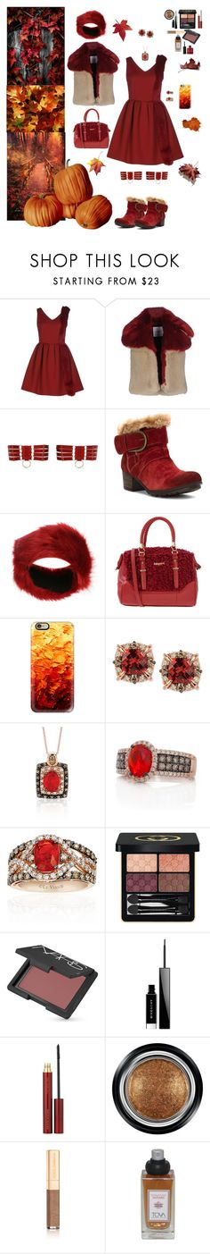 """Autumn in Awe"" by blackmagicmomma ❤ liked on Polyvore featuring AINEA, Bordelle, Josef Seibel, Pilot, Blugirl, Casetify, LE VIAN, Gucci, NARS Cosmetics and Givenchy"