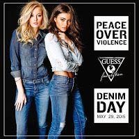 Caffè Letterari: Paul Marciano: Denim Day contro violenza donne