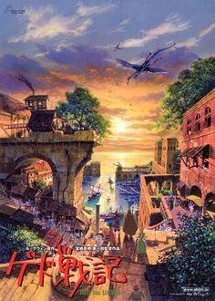 Tales from Earthsea- i love Studio Ghibli! esp. the artwork!