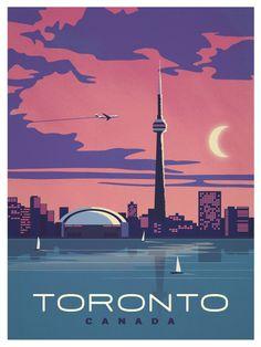 Image of Vintage Toronto Poster