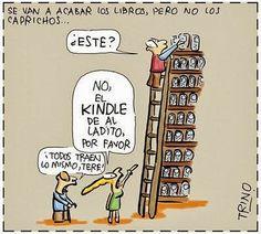 Libros contra e-books: la batalla que ganó el lector | Las Lecturas de Mr.Davidmore