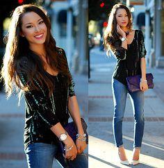 Skinny Jeans im Denim Design von Jessica